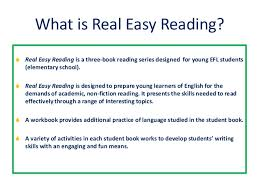 real easy reading presentation real easy reading 2