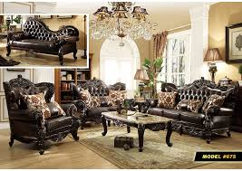 brown leather sofa sets. Wonderful Leather Dark Brown Leather Sofa WRich Cherry FinishMeridian Furniture Intended Sets