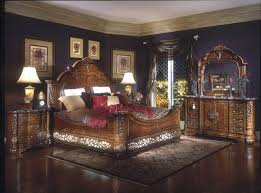 michael amini bedroom. Fine Amini Michael Amini Excelsior Bedroom Furniture Fruitwood Finish By AICO Inside
