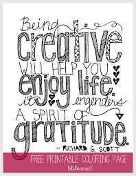 Small Picture Being Creative Quote Coloring Page