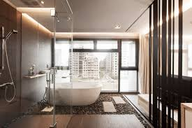 stylist modern natural rock wet room decor with casual modern tubs models also square wet room