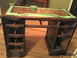 leather top desk