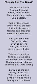 Beauty And The Beast Song Quotes Best of I Have Never Paid Attention To These Lyrics Before They Are