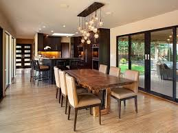 rectangular dining room light. bubble chandelier over log wood dining table using brown vinyl armless chairs cover feat ceiling lamps rectangular room light p