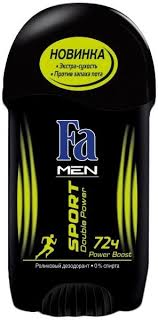 Fa <b>Men Sport Double</b> Power Boost <b>Deodorant</b> Stick - Дезодорант ...