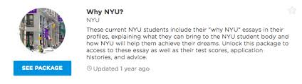how to tackle the why nyu essay prompt examples admitsee interested in reading these students full personal statements in addition to their full responses to the why nyu supplemental prompt