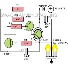how to build a heavy duty 12 volt flasher unit detailed 12 volt flasher unit circuit image indicator lights image