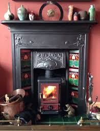 small woodburning stove for small fireplaces