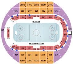 Von Braun Center Arena Seating Chart Huntsville Havoc Vs Birmingham Bulls Tickets Fri Jan 17