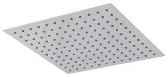 <b>Верхний душ</b> встраиваемый <b>Teorema</b> Square Flat 400 хром ...