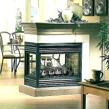 2 sided fireplace electric fireplaces units gas wall