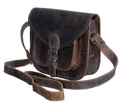 buffalo leather purse satchel