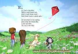 poems for kids to recite if