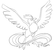 Small Picture Articuno coloring page Free Printable Coloring Pages