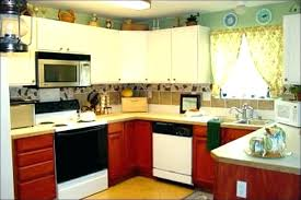 How To Decorate Kitchen Counters Counter Decoration Decorating Ideas  Granite Countertops F . Kitchen Interior Medium Size How To Decorate  Counters ...