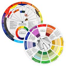Colour Wheel Chart Colors Colour Wheel Paint Mixing Learning Guide Art Class Teaching Tool For Makeup Blending Board Chart Color Mixed Guide Mix Colours