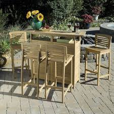 wood patio bar set. Large Size Of Patio Dining Sets:outdoor Bar Tables Outdoor Pub Style Table And Chairs Wood Set N