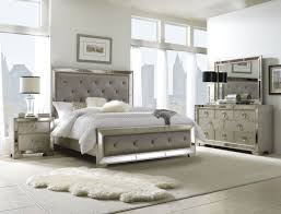 Mirror Side Tables Bedroom Mirrored Headboard Bedroom Set As An Iconic Decoration Pizzafino