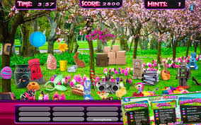 Relatively recent trend, hidden object games have made their first appearance in late 2005 with the game they are a category of puzzle games consisting of finding various items hidden in a background and which thus appeals to the observation capability of. Amazon Com Hidden Object Spring Gardens Objects Time Easter Puzzle Differences Search Game Appstore For Android
