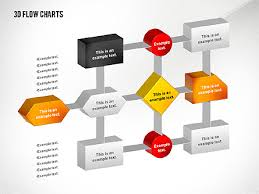 3d Flow Chart Powerpoint 3d Flowchart Toolbox Presentation Template For Google