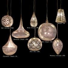 ... African Luxe Zenza pendants group lighting shot