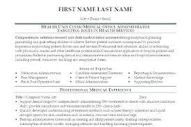 Resume Sample For Office Administrator Business