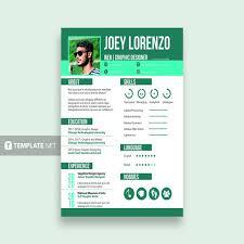 Resume Template 2018 Beauteous 28 Sample CV Templates PDF DOC Free Premium Templates