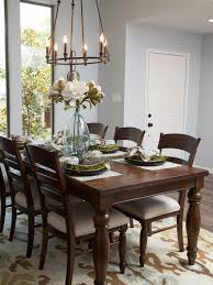dark wood dining room furniture. fixer upper a rush to renovate an u002780s ranch home dark hardwood flooringdark wood floorsfixer hgtvchip and joanna gainesdining room tablesdining dining furniture