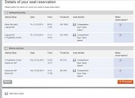 Booking German Deutsche Bahn Train Tickets Online
