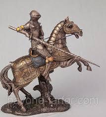 "Статуэтка Veronese ""<b>Рыцарь на коне</b>"" (27 см) 73740 A4, цена ..."