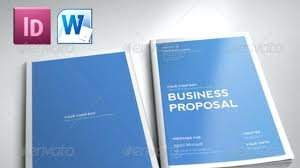 Business Proposal Template Word Free template Microsoft Word Business Proposal Template 1