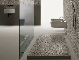 astounding pebble tile shower floor with pebble stone shower floor and river rock tile home depot