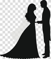 Groom And Bride Illustration Wedding Invitation Marriage Cartoon