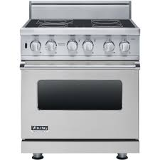 Professional Electric Ranges For The Home Viking Professional 30w Vesc Electric Range Stainless Steel
