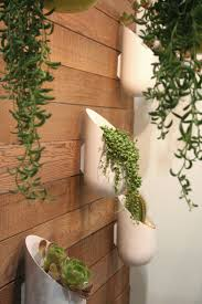 Indoor/outdoor wall planter. - Pieces are a bit too modern, but great
