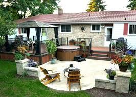 unbelievably small back patio decorating design ideas designs