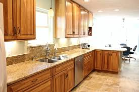 stained hickory cabinets. Modren Cabinets Stained Hickory Cabinets Kitchen Exciting Gel Stain Without Ideas  Rustic Intended D
