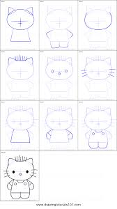 I also added a little party flare with the cupcake toppers, which also work as stickers if… How To Draw Dear Daniel From Hello Kitty Printable Step By Step Drawing Sheet Drawingtutorials101 Com