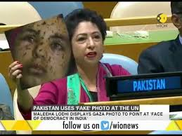 Pakistan Envoy - Un Watch At Using How Reacts To 'fake' Picture Youtube
