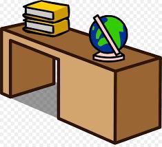 office desk clipart. Simple Desk Club Penguin Table Office U0026 Desk Chairs Clip Art  Desk Clipart Throughout Clipart I