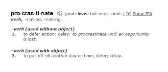 procrastination definition essay procrastination definition