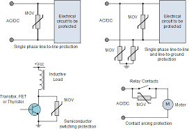 varistor and the metal oxide varistor tutorial varistor applications