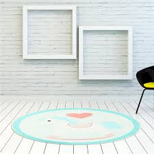 round rugs cute animal carpets horse heart shaped pattern living room computer chair area rug kids play game tent floor mat outdoor patio cushion covers