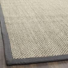 impressive gray sisal rug safavieh casual natural fiber marble grey 10 x 14