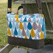 Messenger Bag Pattern Inspiration Digital Midtown Messenger Bag Sewing Pattern Shop Oliver S