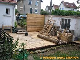 Torpoon Home Creation Terrasse En Palettes Et Salon D T