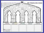 Clipart Bilder Galerie : Säulen, des, islam