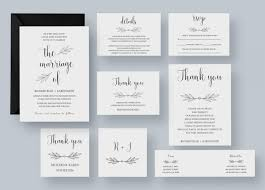 Printable Wedding Guest List Template New Printable Wedding Invitation Template Wedding Invitation Set