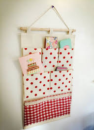 door fabric pocket hanging organizer