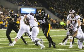 Iowa Hawkeyes Depth Chart Iowa Football Depth Chart Monday A J Epenesa Was Good To